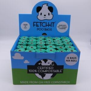 single compostable poo bags