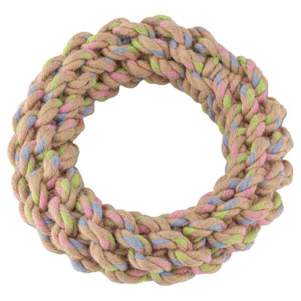 Hemp rope ring