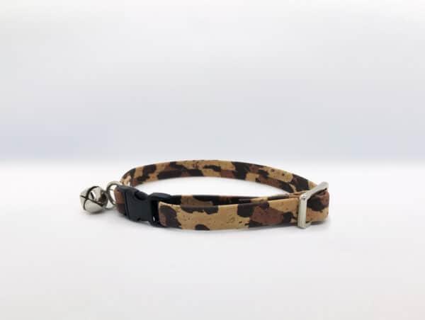 Cork Cat Collar Leopard Print