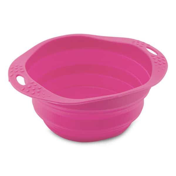 pink travel bowl