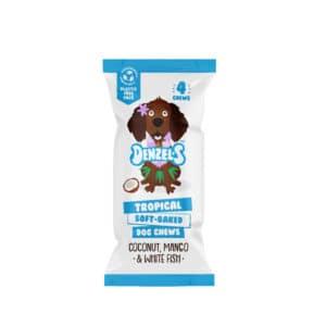 tropical dog chews denzels